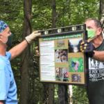 interpretive trail signage